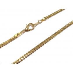 Collier plaqué or 47cm