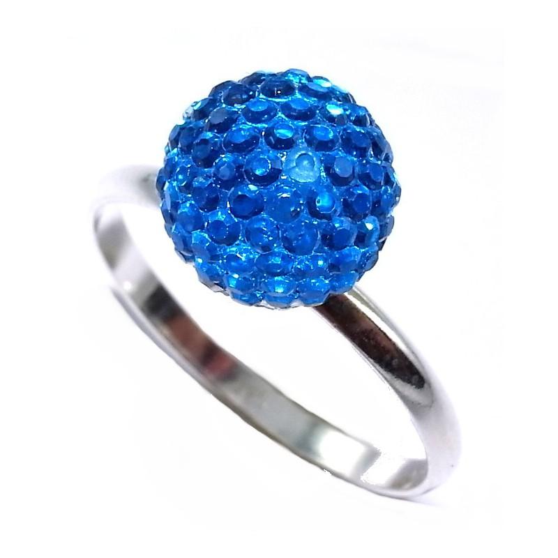 bague argent 0 9g taille 50 60 r sine bleue les perles de v nus. Black Bedroom Furniture Sets. Home Design Ideas