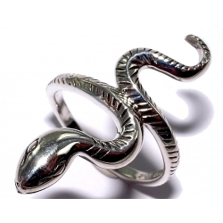 Bagues argent bague argent 2,9g t 50 à 60 serpent