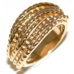 Bague plaquée or 3 microns t 50 à 60