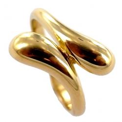 Bague plaquée or t 50 à 60