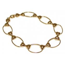 Bracelet plaqué or 3 microns
