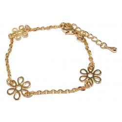 Bracelet plaqué or 16+3cm