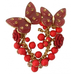 Broche assortie collier fd 482