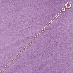 chaîne plaquée or 40 cm