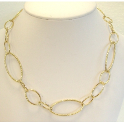 Collier plaqué or 45cm