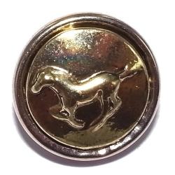 Bouton pression métal 2 tons cheval