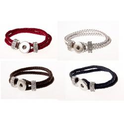 Lot de 4 bracelets boutons pressions taille G BP 328 à BP 331 à 4 €
