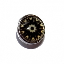 "Bouton pression ""roue"" taille P"