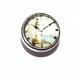 "Bouton pression ""horloge"" taille P"