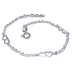 Bracelet argent 1,5g 16+2,5cm
