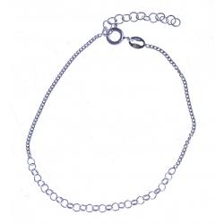 Bracelet en argent 1,4g - 17+3 cm