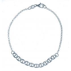 Bracelet en argent 3,2g - 19 cm