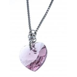 Parure en argent rhodié 6,3g - cristal de swarovski - SW 429 à 11,4€ - 529 à 6€