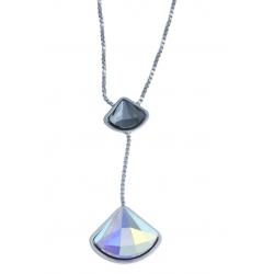Parure en argent rhodié 4,8g - cristal de swarovski -SW 432 à 13,5€ - 532 à 5,6