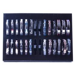 Présentoirs 24 bracelets pour homme ID 315 à ID 338