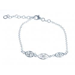 Bracelet argent 2,3g - 17+3cm