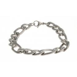 Bracelet acier - homme - 22 cm