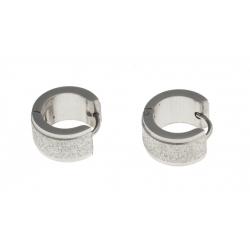 Créole acier - finition diamantée - épaisseur 7mm