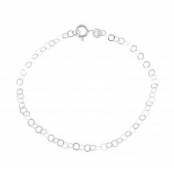 Bracelet argent 1g - 18,5cm