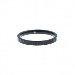Anneau interne SCREW - acier noir - 2,5mm - T 55 àˆ 65