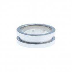 Bague support SCREW - 7,5 mm – acier - Taille 50 à 60