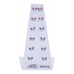 Présentoir 6 bos 5,3g - papillons multicolores