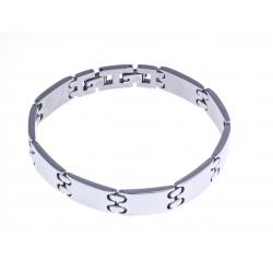 Bracelet acier homme - 22,5cm