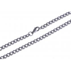 Collier acier - 5mm - 60cm