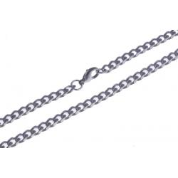 Collier acier - 5mm - 50cm