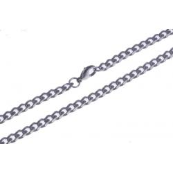 Collier acier - 5mm - 55cm