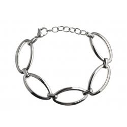 Bracelet acier - 17+4cm