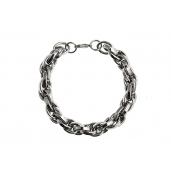 Bracelet acier 20,5 cm