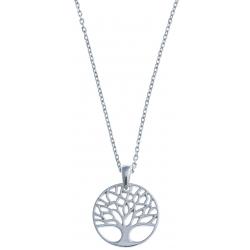"""Collier argent 4,1g """"arbre de vie"""" - 38+5cm"""