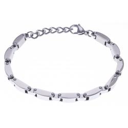 Bracelet acier homme - 20+3cm