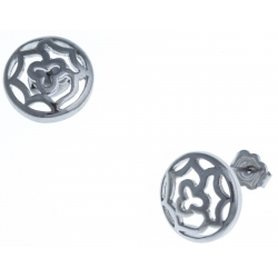 Boucles d'oreille acier