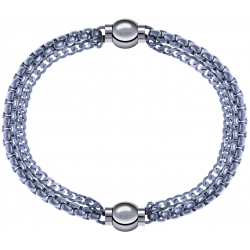 Apollon - Collection MiX - bracelet combinable chaines - 10,25cm + chaines - 10,25cm