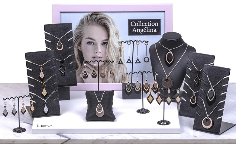 Colléction Angélina - Bijoux acier moderne