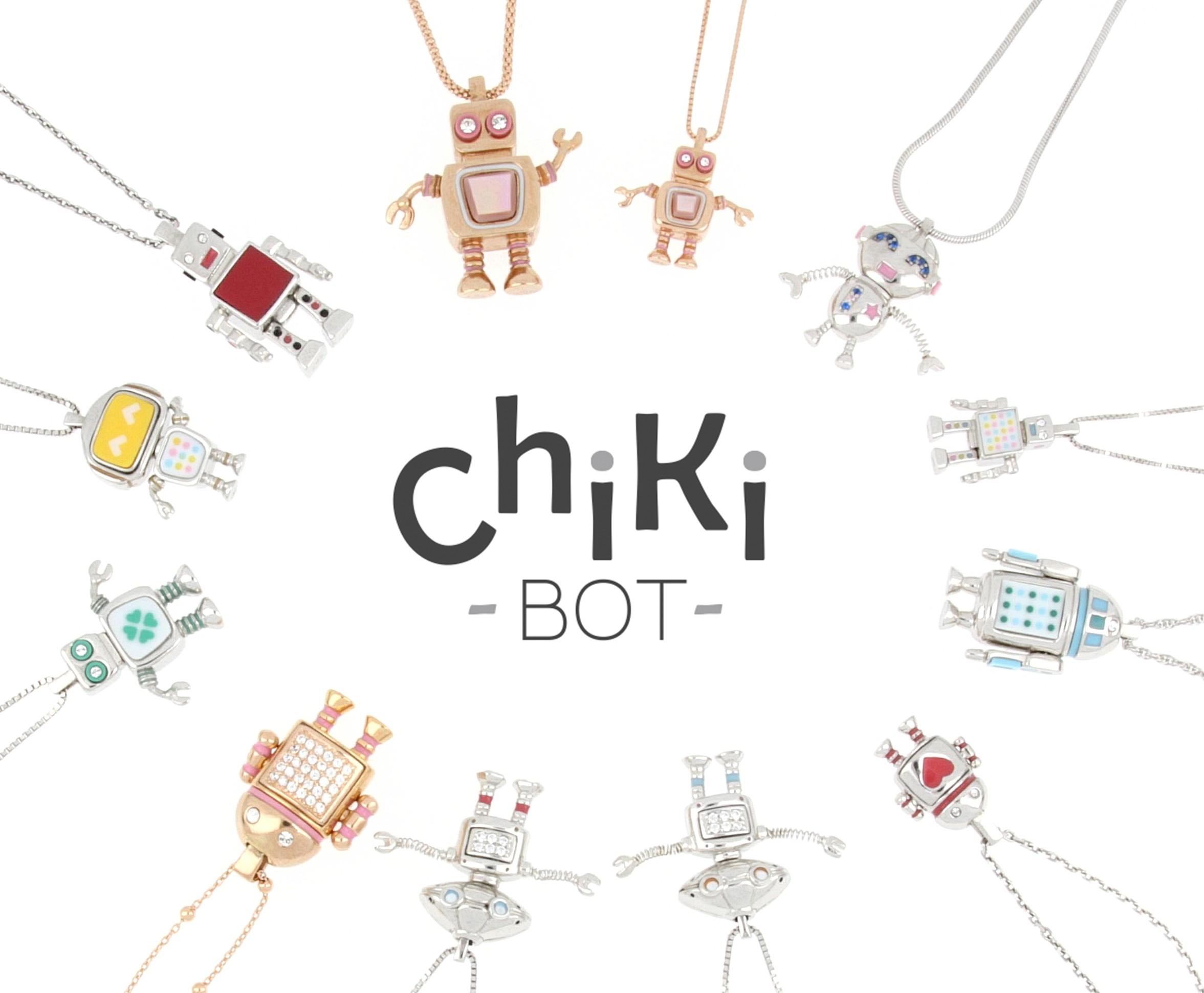 Chikibot - Les bijoux Robots qui se portent selon vos envies !