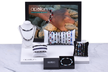 BIJOUX HOMME APOLLON - COLLECTION MURANO