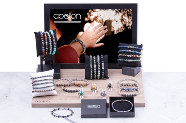 BIJOUX HOMME APOLLON - COLLECTION PIERRES NATURELLES