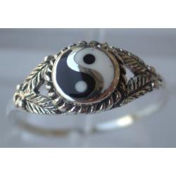 Bague yin yang 1.8 g