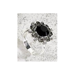 Bague 2 tailles strass