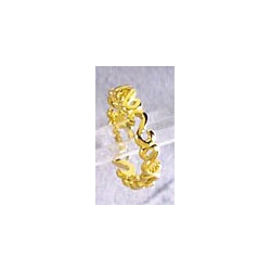 Bague plaquée or 3 microns