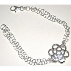 Bracelet argent 4,5g 18,5cm