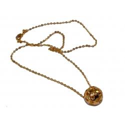 Collier plaqué or  40cm