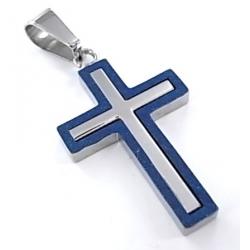 Pendentif acier l 316 croix