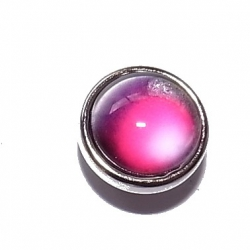"""Bouton pression """"rouge"""" taille P"""