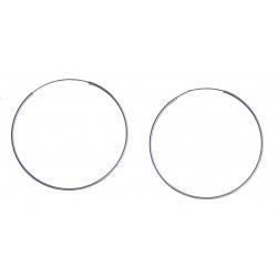 Créoles argent 2,1g – 1x45 mm