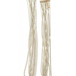 Collier fantaisie multi-rangs - 41+9 cm